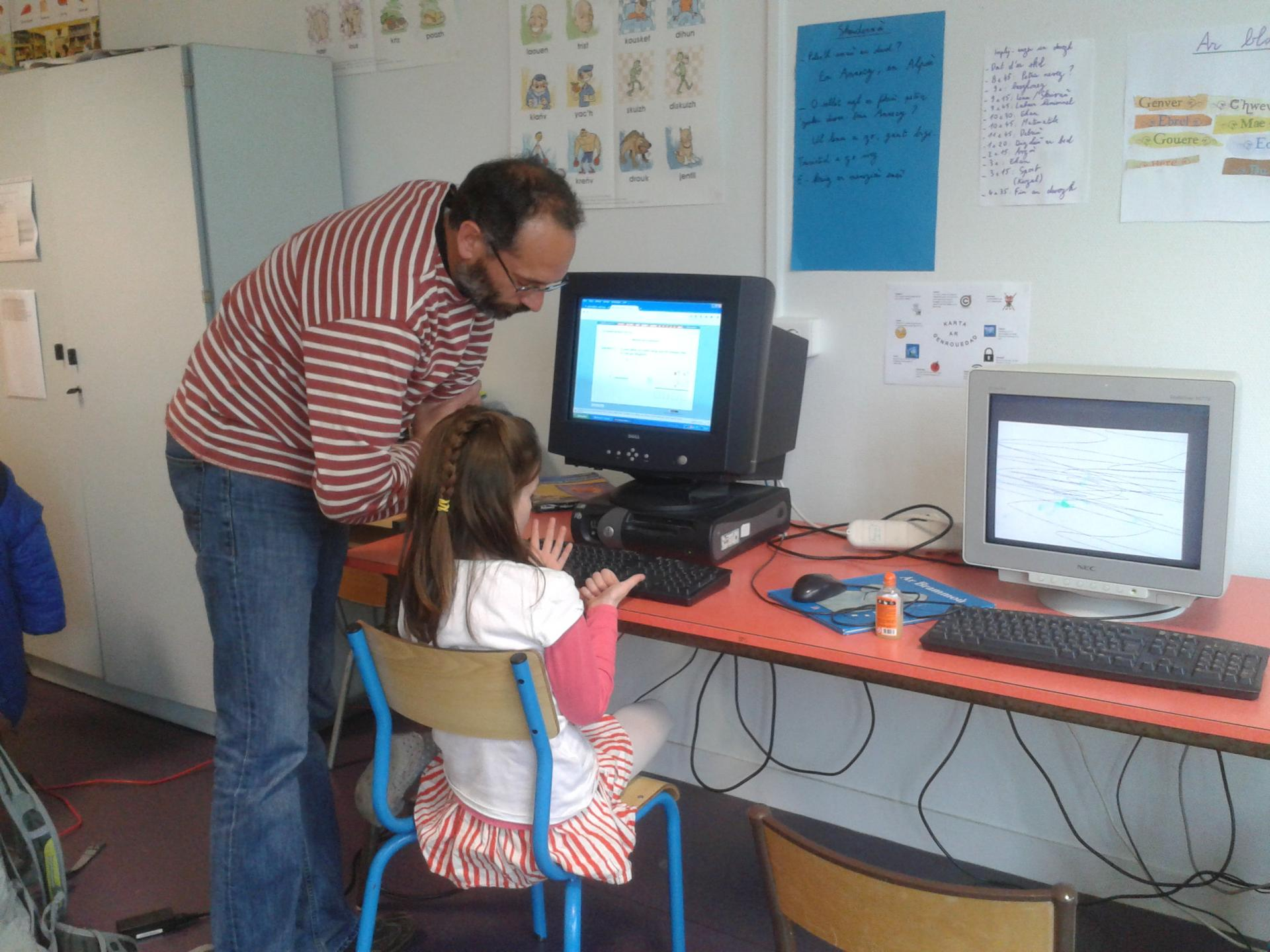 Apprentissage à l'informatique